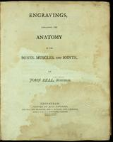 Engravings, explaining the anatomy of the bones, muscles, and joints.