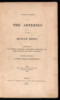 Anatomical description of the arteries of the human body : illustrated by several coloured engravings, selected and reduced from the Icones of Haller : exhibiting the parts as they appear on dissection : from the last London edition, corrected and improve