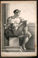 Surface anatomy, male figure